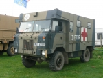 land rover military ambulance