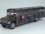 diecast army bus