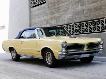 1965 Pontiac GTO Convertible - Old-Timer, Pontiac, Convertible, Car, Muscle, GTO