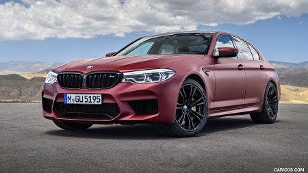2018 Bmw M5 F90 First Edition Bmw Cars Background