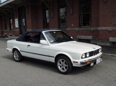 1990 BMW 325i Convertible 5-Speed - BMW, Convertible, 5-Speed, Car, Luxury, 325i, Young-Timer