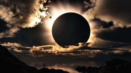 Eclipse of the Sun FC - high quality, sun, photography, wide screen, beautiful, photo, eclipse, space