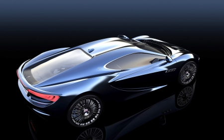 Maserati Bora Concept 2013 - cars, blue vehicles, maserati, concept, vehicles, Maserati Bora Concept 2013