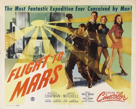 flight to mars - man, mars, flght, girl