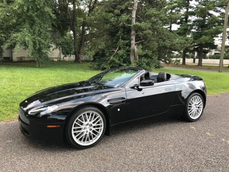 2009 Aston Martin V8 Vantage Convertible 6-Speed - V8, Convertible, Car, Vantage, 6-Speed, Sports, Aston Martin
