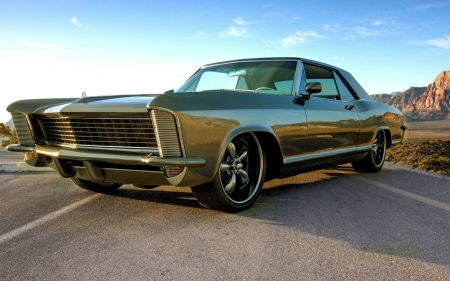 1964 Buick Rivera - cars, buick, green, rivera