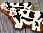 Gingerbread Cows
