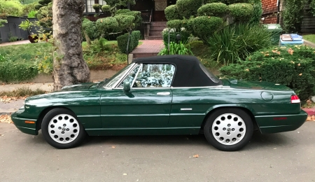1991 Alfa Romeo Spider Veloce Cabriolet 5-Speed - 5-Speed, Car, Alfa Romeo, Veloce, Spider, Sports, Young-Timer, Cabriolet