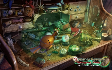 Spirit of Revenge 6 - Unrecognized Master12 - hidden object, cool, video games, puzzle, fun