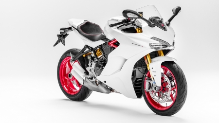 Ducati SuperSport - simple background, vehicles, motorcycles, supersport, ducati