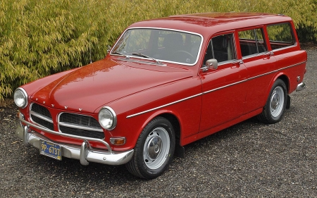 1964 Volvo Amazon 122 Wagon - Old-Timer, Red, Volvo, Car, 122, Amazon, Wagon