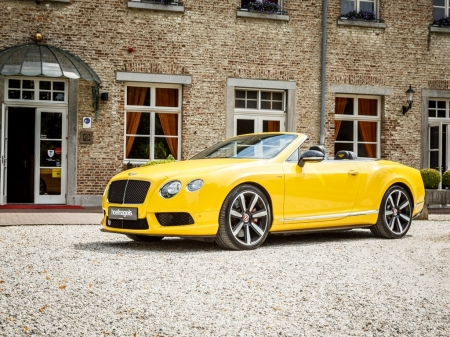 2014 Bentley Continental GTC V8 S - V8, GTC, Car, Luxury, Bentley, Continental, Cabriolet