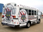 wolfepack martial arts bus