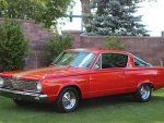1966 Plymouth Barracuda 273ci V8 3-Speed Automatic