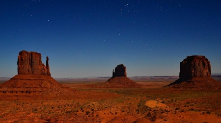Monument Valley - Monument Valley, cool, desert, mountains, nature, fun