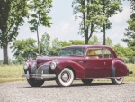 1941 Lincoln Continental Coupe 292ci V12 3-Speed