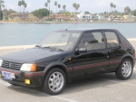 1989 Peugeot 205 GTI 1.9 5-Speed 3-Door Hatchback