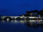 Le Pont D'Avignon. Bridge on River Rhone at Avignon 2