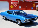 1970 Ford Torino 429 V8 Cobra Jet 4-Speed 2-Door Fastback