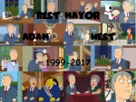 Mayor Adam West tribute