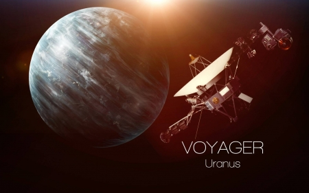 Uranus Voyager - Uranus, fun, cool, planet, Voyager, space