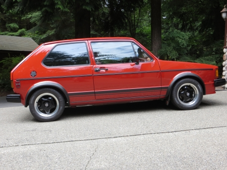 1983 Volkswagen Rabbit GTI 2.0 5-Speed 3-Door Hatchback - Old-Timer, 3-Door, Volkswagen, Hatchback, 5-Speed, Car, Rabbit, GTI
