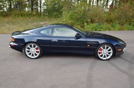 2003 Aston Martin Db7 Gt 59 V12 6 Speed 2 Door Coupe Aston Martin