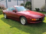 1991 BMW 850i Coupe 5.0 V12 4-Speed Automatic