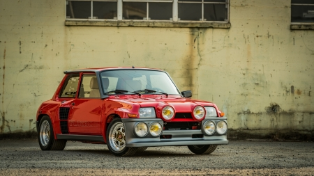 1985 Renault R5 Turbo 2 Evolution 1432cc 5-Speed - Renault, Red, Turbo 2, Old-Timer, R5, Evolution, 5-Speed, Car, 1432cc