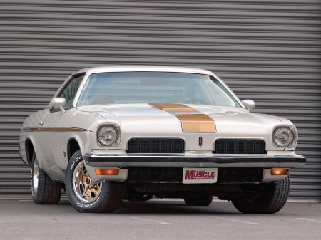 1973 Oldsmobile Hurst/Olds - GM, Gold Accents, White, Olds