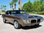 1969 Pontiac Firebird 350 V8 2-Door Convertible