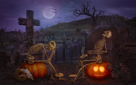 funny halloween skeletons other abstract background wallpapers