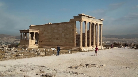 The Erechtheion Athens - Building, Athens, Erechtheion, Greece, Ancient