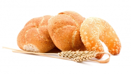 White buns - seeds, background, white bread, white, bun, photography, wallpaper, abstract, rolls, wheat