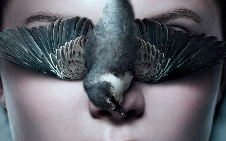 Thelma (2017) - thelma, bird, face, woman, wings, movie, pasare, feather, poster