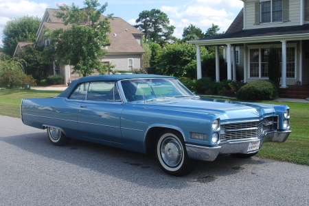 1966 Cadillac DeVille Convertible 429ci V8 3-Speed Automatic - DeVille, V8, Cadillac, 3-Speed, Old-Timer, Convertible, Automatic, Car, Luxury, 429ci