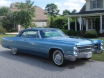 1966 Cadillac DeVille Convertible 429ci V8 3-Speed Automatic