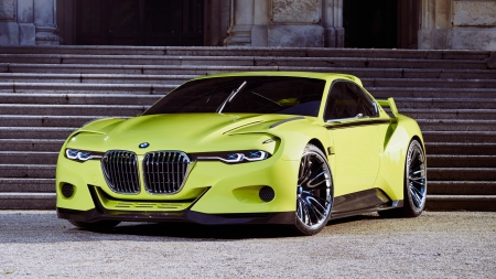 BMW - cars, side view, sports cars, green cars, bmw, vehicles