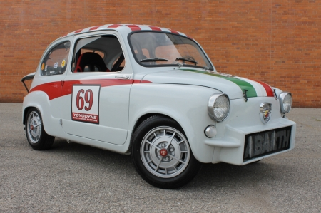 1960 Fiat 600 Abarth Coupe 850cc 4-Speed - 600, Old-Timer, Coupe, Fiat, 850cc, Sports, 4-Speed, Abarth