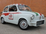 1960 Fiat 600 Abarth Coupe 850cc 4-Speed