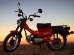 1980 Honda CT 110 105cc Single Cylinder 4-Stroke 4-Speed Semi Automatic