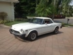 1976 Fiat 124 Spider Convertible 1.8 5-Speed