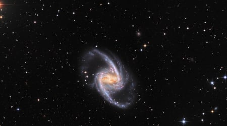 NGC 1365 Majestic Island Universe - stars, fun, cool, galaxies, space