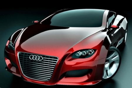 Red Audi Locus - Audi, Red, Design, Cars