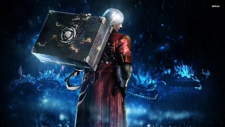 devil may cry 4 - case, may, man, devil, cry