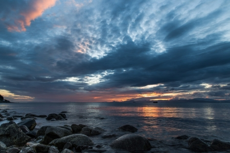 Beautiful Scenery - seaside, rocks, nature, sky