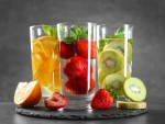 Glass of Fruits