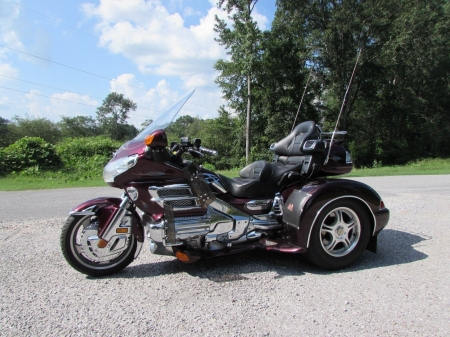 2006 Honda Gold Wing GL1800 Champion Trike - Gold, Honda, Trike, Champion, Wing, GL1800
