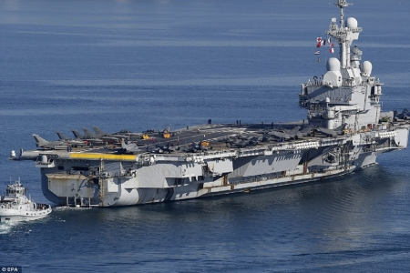 WORLD OF WARSHIPS FRENCH NAVY CVN CHARLES DE GAULLE - 4 diesel electric, 2 Areva K15 pressurised water cooled reactors, 42500 tons, 2 steam turbines, 858 ft, speed 27 kts