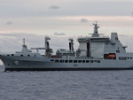 WORLD OF WARSHIPS RFA TIDESPRING REPLENISHMENT TANKER BRITISH ROYAL FLEET AUXILIARY